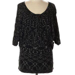 BCBGMAXAZRIA Silk Blend Pullover Small EUC